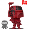 "Funko Super Sized Pop ""Red with Black"" Boba..."