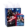 Hallmark Star Wars Large Birthday Gift Bag with Card and Tissue Paper