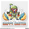 Hatching Easter Boba Fett Sticker