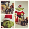 Gentle Giant Holiday Yoda, Jumbo Sized with Mini Boba Fett (2013)