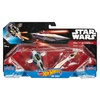 Hot Wheels Star Wars Slave I vs. Jedi Starfighter Starship 2-Pack