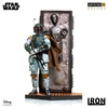 Iron Studios Boba Fett and Han Solo in Carbonite Deluxe Art Scale 1/10