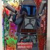 Lego Star Wars Trading Card Collection #99 Jango Fett skilful - Foil Card