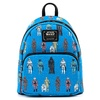 Loungefly Star Wars Action Figures AOP Mini Backpack