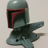 McDonalds Boba Fett Helmet on a Slave I Toy
