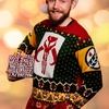 Merry Mandalorian Knitted Christmas Sweater