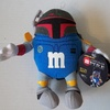 M&M's Blue Character as Boba Fett Plush