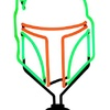 Neon Boba Fett Sign