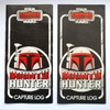 Palitoy Bounty Hunter Capture Log, Front Variants (1981)