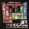 Periodic Table of Star Wars Villains T-Shirt