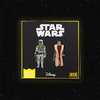 Pin Kings Star Wars Enamel Pin Badge Set 1.11 Boba Fett and Leia Organa (Bespin Gown)
