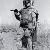 Pre-Pro #1 Boba Fett costume with #65 Sticker