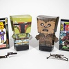 Pulp Heroes Snap Bots Star Wars 2-Pack (Boba Fett and Chewbacca)
