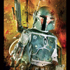 Pyramid International Painted Boba Fett Poster