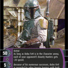 TCG Rogues and Scoundrels #77 Boba Fett (2004)