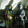 Return of the Jedi, Boba Fett in Jabba's Palace with Other Bounty Hunters