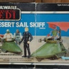 """Return of the Jedi"" Desert Sail Skiff Vehicle Box (1983)"