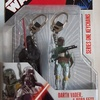 Series One Keychains Boba Fett and Darth Vader
