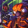 Topps Shadows Of The Empire #93 Fett Deals with Zuckuss (1996)