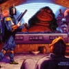 Topps Shadows Of The Empire #94 At Last, Fett Delivers Han to Jabba (1996)