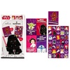 Star Wars 32 Valentines with Teacher Card and Sticker Sheet