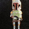 Star Wars Celebration Anaheim Boba Fett Pin (2015)