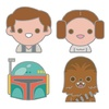 Star Wars Celebration Europe Original Trilogy Emoji Pin Set 4-Pack