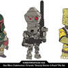 Star Wars Celebration Orlando Bounty Hunter 3-Pack Pin Set