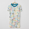 Star Wars Glow In The Dark Short John Pajamas In Organic Cotton