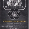 Star Wars Masterwork 2016 Dickey Beer, Double For Boba Fett (Autograph)