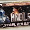 Star Wars Power Plates MNDLRN Mini Magnetic License Plate