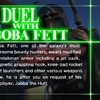 Star Wars Trilogy Arcade, Duel with Boba Fett (1998)