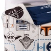 Star Wars White Comforter