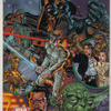 Topps Star Wars Galaxy 3 #359 J. Scott Campbell / Alex Garner (1995)