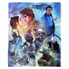 The Empire Strikes Back Silk Touch Throw Blanket