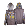 ThinkGeek Star Wars Art Sketch Ladies Windbreaker Jacket