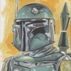 Topps Star Wars Chrome Perspectives Sketch Card, Kris Penix (2014)