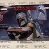 Tin Sign Plate Assassin Boba Fett