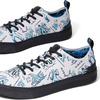 TOMS White STAR WARS Character Sketch Print Sneakers