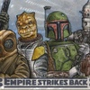 The Empire Strikes Back 3D Sketch Card, Erik Maell (2010)