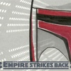 Topps The Empire Strikes Back 3D, Sketch Card, Steph Yue (2010)
