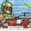 Topps Return of the Jedi 3D Sketch Card, Goad