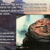 Topps Return of the Jedi Widevision #27 Int. Jabba's...