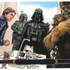 Topps Star Wars Illustrated: The Empire Strikes Back #75 Vader's surprise