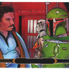 Topps Star Wars Illustrated: The Empire Strikes Back #76 Standing idly by