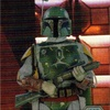 Topps Star Wars Chrome Perspectives #39E Boba Fett Bounty Hunter (Maximum Efficiency) Refractor (2014)