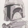 Topps Star Wars Chrome Perspectives Sketch Card, Robert Hendrickson (2014)