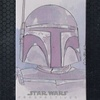 Topps Star Wars Chrome Perspectives Sketch Card, Roy Cover (2014)