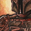 Topps Star Wars Chrome Sketch Card, Darrin Pepe (2014)