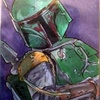 Topps Star Wars Galactic Files Sketch Card, Rachel Kaiser (2010)